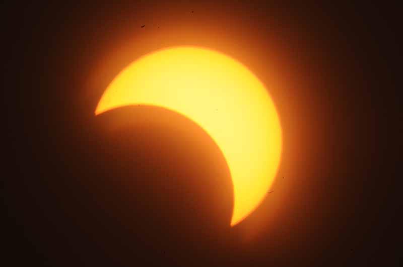 خسوف جزئي للقمر فى السابع من اغسطس الجارى وكسوف كلي للشمس فى الواحد وعشرين منه لايرى من السودان