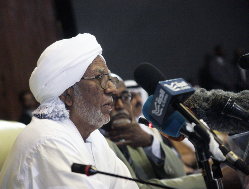 Assembly speaker invites his Kazakh counterpart to visit Sudan