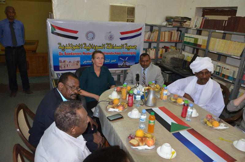 الامين العام لمجلس الصداقة الشعبية العالمية يشيد بدور جمعية الصداقة السودانية الهولندية