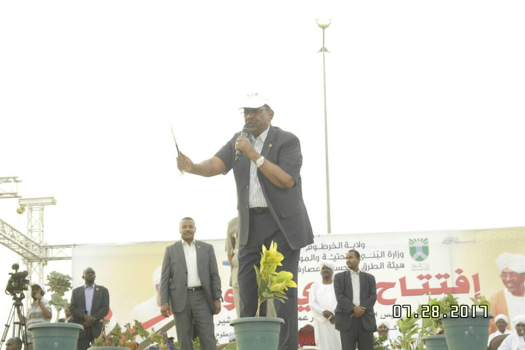 Bashir says Sudan continues development projects despite sanctions