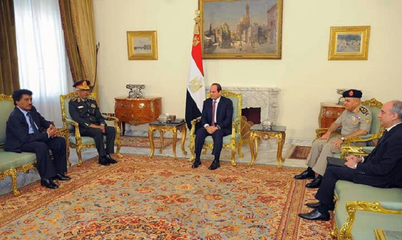 Minister for Defense calls on President Al Sisi of Egypt, concludes visit to Cairo