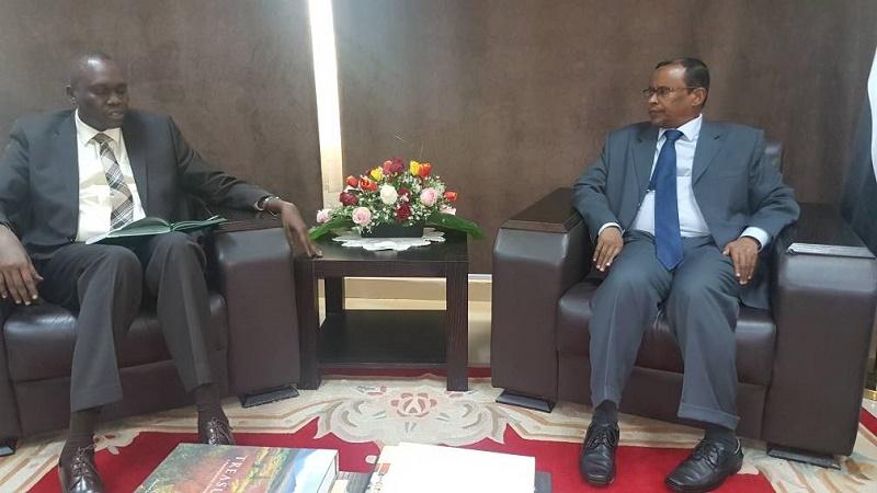 FM undersecretary receives South Sudan ambassador